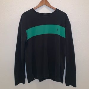 Polo RL Two Tone Long Sleeve